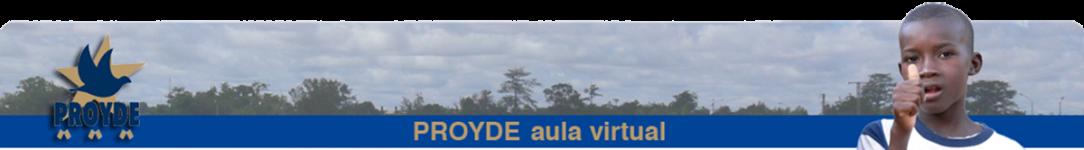 PROYDE - Aula Virtual